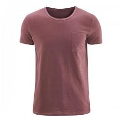 T-shirt |burgundy| organic...