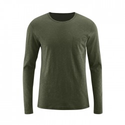 Long-sleeved shirt |olive|...