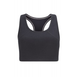 Yoga Crop Top| Black |...