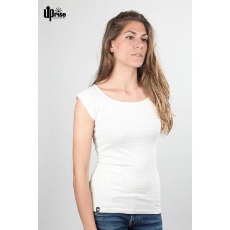 Ace lasten lyhythihainen t-paita White Solid
