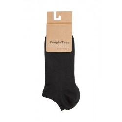Trainer socks in black |...