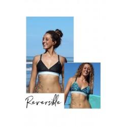 Triangle reversible bikini...