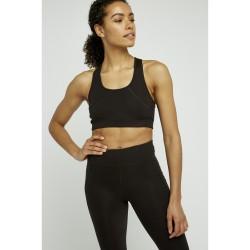 Yoga Crop Top  Black  ...