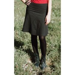 Daily hemp skirt |black| Up...