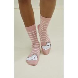 Muumi raita-sukat, pinkit|...