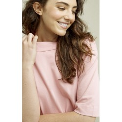 Claire Boxy Top in Pink |...