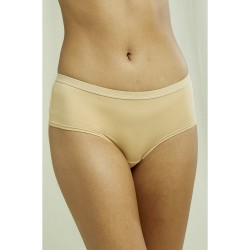 Low rise shorts in Almond ...