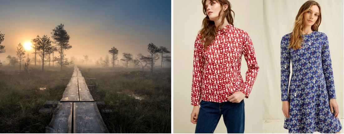 Moomin x People Tree Conscious collection